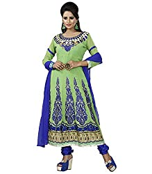Khazana Women's Unstitched Dress Material (Khazana-25-pb-2111_Green_Free Size)