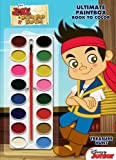 Disney Jake and the Never Land Pirates Treasure Hunt Ultimate Paint Box Book to Color [With Paint Brush and Paint] (Disney Junior)