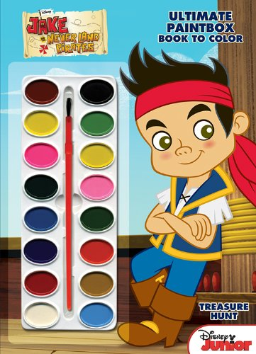Disney Junior Ultimate Paintbox Book to Color