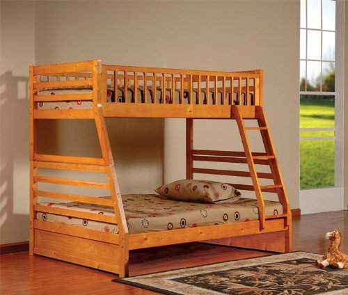 Bunk Beds Twin Over Full 4723 front