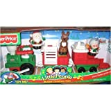 Fisher Price Little People Holiday Musical Christmas Train 2003