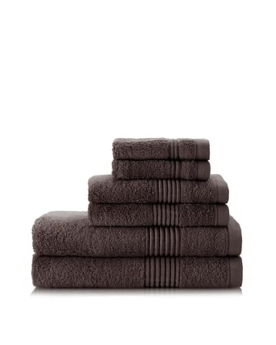 Chortex Ultimate 6-Piece Towel Set, Charcoal