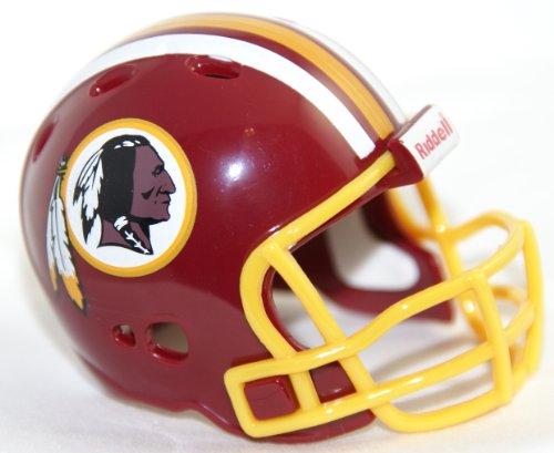 WASHINGTON REDSKINS NFL Riddell Revolution POCKET PRO Mini Football Helmet