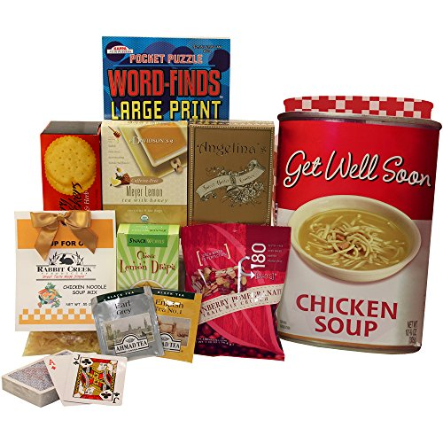 Art of Appreciation Gift Baskets Get Well Soon Chicken Soup Tote Gift Bag (Cheer Up Care Package compare prices)