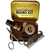 beardbrand beardsman 39 s walnut box tree ranger scent beard care grooming gift with beard oil. Black Bedroom Furniture Sets. Home Design Ideas