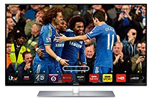 Samsung UE40H6700 40-inch Widescreen Full HD 1080p 3D Slim LED Smart TV with Quad Core Processor and Freeview HD (discontinued by manufacturer)