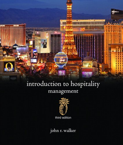 Introduction to Hospitality Management (3rd Edition)