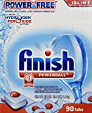 Finish All-in-1 Powerball Power and Free 90 Dishwasher Tabs