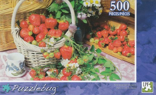 Puzzlebug 500 Piece Puzzle - Strawberry Basket