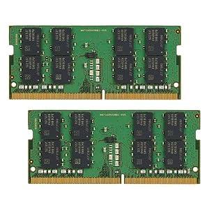 Mushkin Essentials – DDR4 Laptop DRAM – 64GB (2x32GB) SODIMM Memory Kit – 2666MHz (PC4-21300) CL-19 – 260-pin 1.2V Notebook RAM – Dual-Channel – Low-Voltage – (MES4S266KF32GX2) (Color: Green, Tamaño: 64GB)