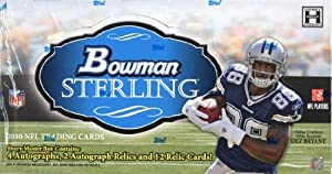 2010 Bowman Sterling Football box (6 pk) by Bowman