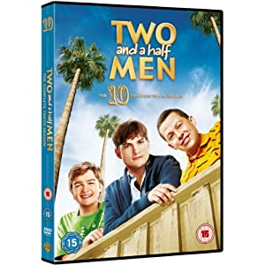Two and a Half Men - Season 10 [DVD] [2013] [STANDARD EDITION] [Import angl