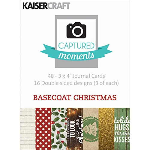 kaisercraft-paper-captured-moments-double-sided-cards-3-inch-x-4-inch-4-basecoat-christmas