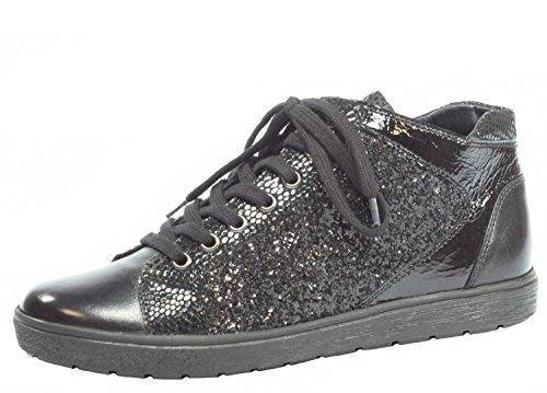 Caprice donne Sneaker 9-25254-019 Kombi nero Gr. 37-40,5, pelle, Damen Größen:38;Farben:schwarz