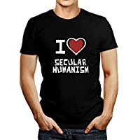 Idakoos I love Secular Humanism - Religions - T-Shirt