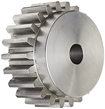 Boston Gear Spur Gear, 14.5 Pressure Angle, Steel, Inch, 4 Pitch