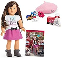 Bundle - 2 items: American Girl Grace Doll and Paperback Book, American Girl Grace's Welcome Gifts