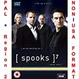 Spooks Season 7 (UK import, Region 2 PAL}