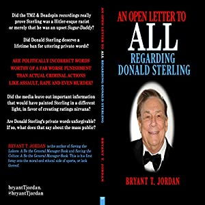 An Open Letter to All Regarding Donald Sterling Audiobook