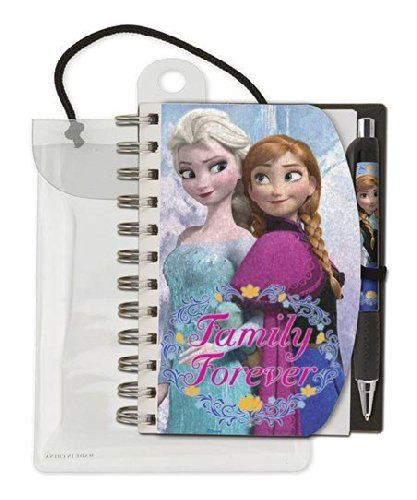 Disney Frozen Family Forever Holographic Notebook and Pen Stationary Set - 1