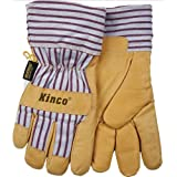 Kinco Cold Weather Pigskin Work Gloves, Large