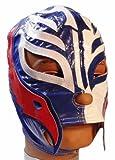 WWE REY MYSTERIO Kid Size BLUE/WHITE Replica MASK