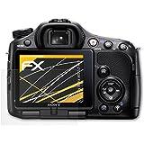 3 x atFoliX Schutzfolie Sony Alpha a65 (SLT-A65) Displayschutzfolie - FX-Antireflex blendfrei