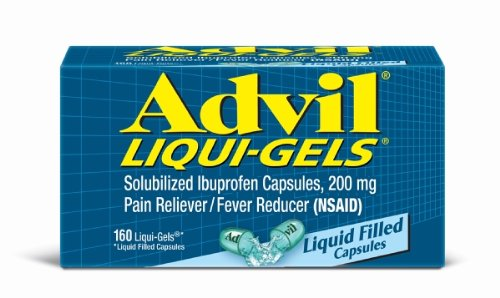 Advil Liqui-gel, 200 mg, 160 count Box