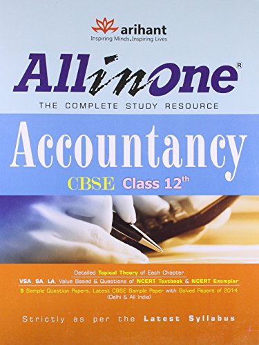 CBSE All in One Accountancy Class 12