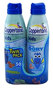 Coppertone Kids Continuous Spray