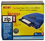 Iomega - Disk drive - ZIP ( 250 MB ) - Parallel - external - blue