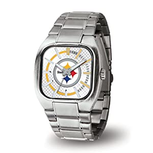 NFL Turbo Watch Silver by Rico Tag