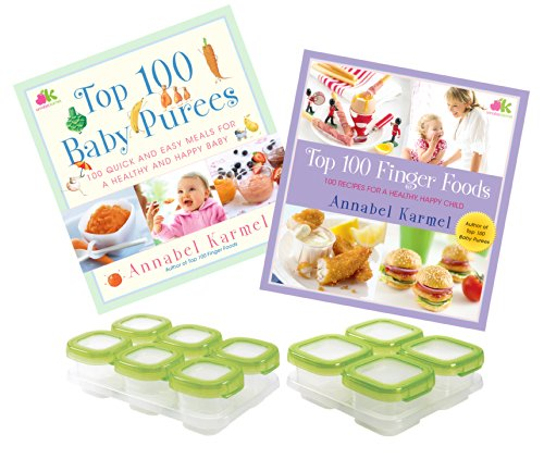 top-100-finger-foods-baby-puree-recipe-books-with-food-storage-blocks