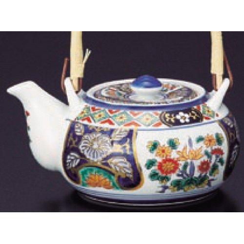 teapot kbu486-45-992 [580cc] Japanese tabletop kitchen dish Porcelain teapot brocade peony No. 4 Old Imari teapot [ 580 cc ] inn restaurant tableware restaurant business kbu486-45-992