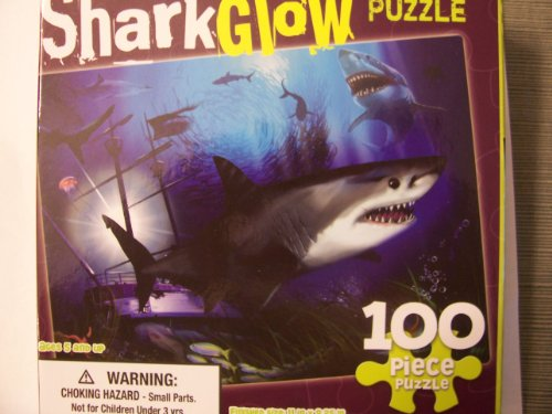 Cheap Dalmatian Press Shark Glow  100 Piece Glow-in-the-dark Puzzle (1403776687)