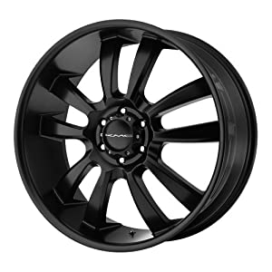 KMC Wheels  Skitch Wheel with Satin Black Finish (18×8″/6×5.5″)