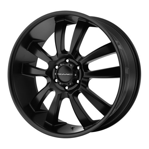 KMC Wheels KM673 Skitch Satin Black Wheel (18x8