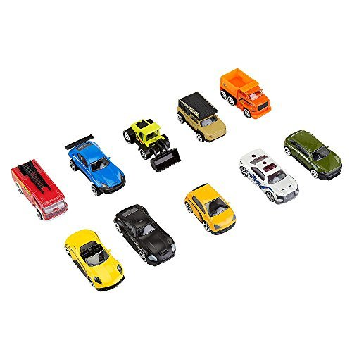Fast Lane 10-Piece Die cast vehicle pack- Colors/Styles May Vary by Toys R Us