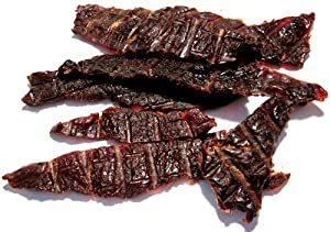 Voodoo Wicked All Natural 100 Grass Fed Beef Jerky - 24 Pack - Ginger Wicked - Spicy Teriyaki Style - Gourmet Beef Jerky from Voodoo Wicked