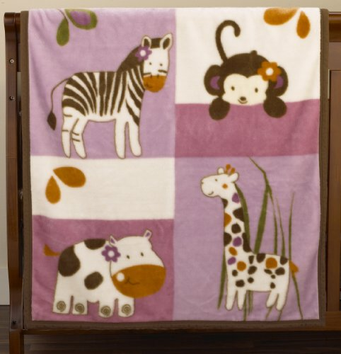 "CoCaLo Jacana Soft and Cozy Blanket, 36"" x 40 (Discontinued by Manufacturer)"