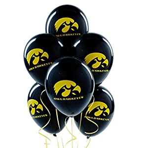 Buy Iowa Hawkeyes - Latex Balloons Party Accessory by Classic Balloon Corporation