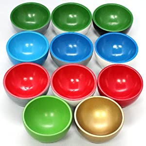 Montessori 11 Wooden Sorting Bowls