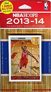 2013 14 Panini Hoops NBA Basketball Houston Rockets Factory Sealed Complete Team Set... by Wowzzer