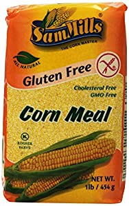 Sam Mills Gluten Free Corn Meal, 16-Ounce (Pack of 10)