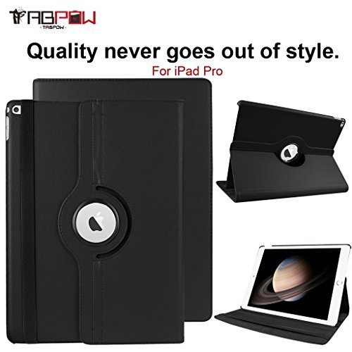 Learn More About iPad Pro Case, TabPow [Smart 360 Series] - [360 Rotating][Stand][Magnetic][Auto Sle...