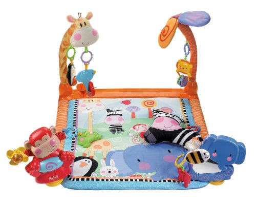 Imagen 2 de Fisher-Price - W2620  - Gimnasio abierto para animales [Importado de Alemania] (Mattel)