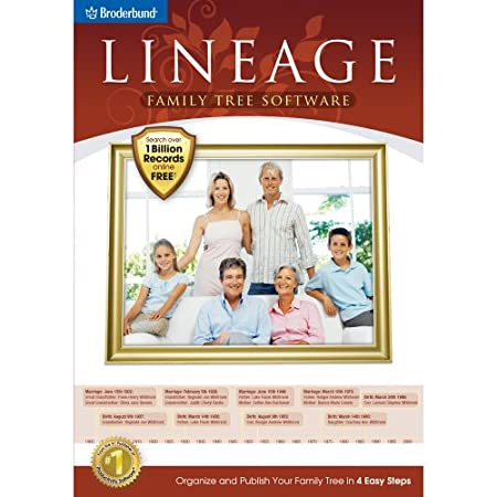 Lineage Family Tree Software [Download]