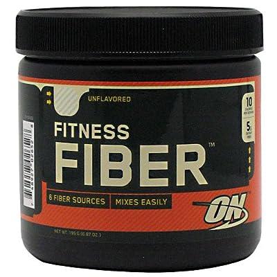 Optimum Nutrition Fitness Fiber - Unflavored, 6.87 oz (195 g)