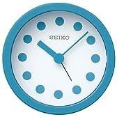 SEIKO CLOCK (セイコークロック) 小型 目覚まし時計 トーキョー アラーム・クロック TOKYO Alarm Clock パワーデザインプロジェクト QK730L(青)