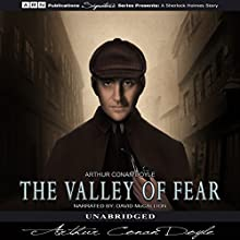 The Valley of Fear Audiobook by Arthur Conan Doyle Narrated by David McCallion